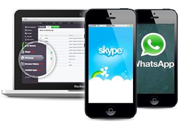 whatsapp und Skype ausspionieren